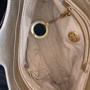 Tory Burch Bags - Tory Burch Gold Handbag